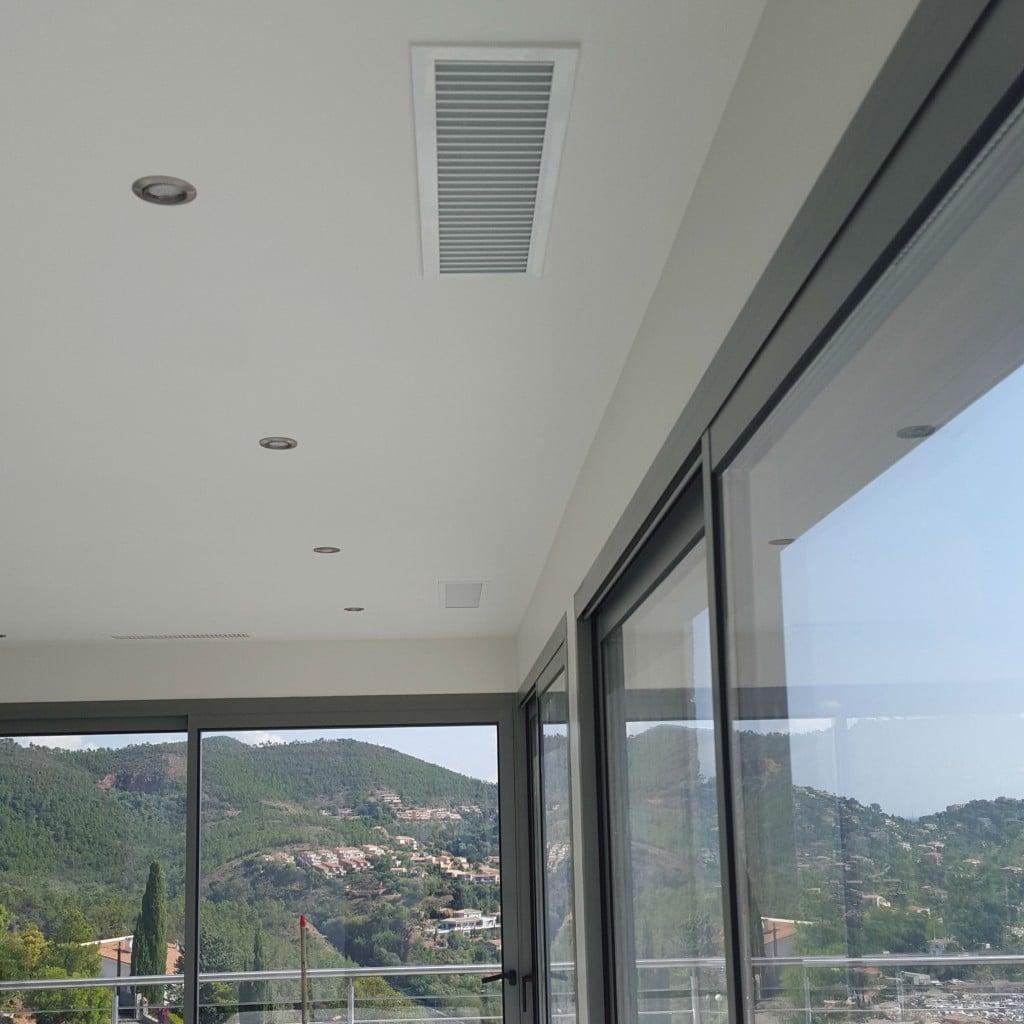 Installation d'un gainable, climatisation Réversible