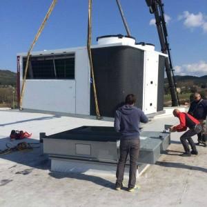 Installation d'un Roof  Top chez le concessionnaire Renault à Brignoles
